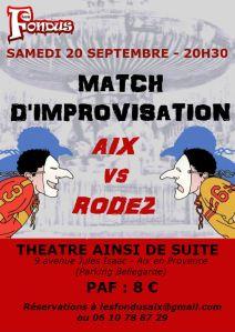 Match Aix Rodez