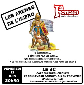 affiche arenes