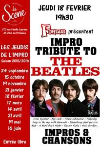 affiche tribute Beatles