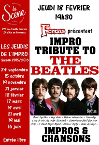 affiche tribute Beatles