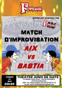 matchs Aix vs Bastia