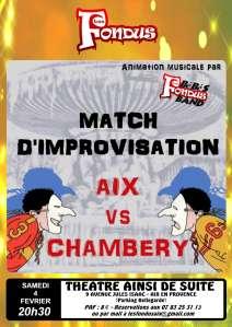 Match Aix Chambéry
