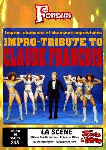 Impro-tribute to Claude François