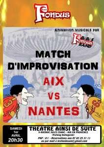 Match Aix vs Nantes