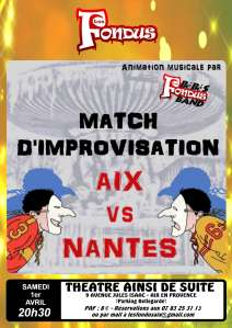 Match Aix vs Nantes