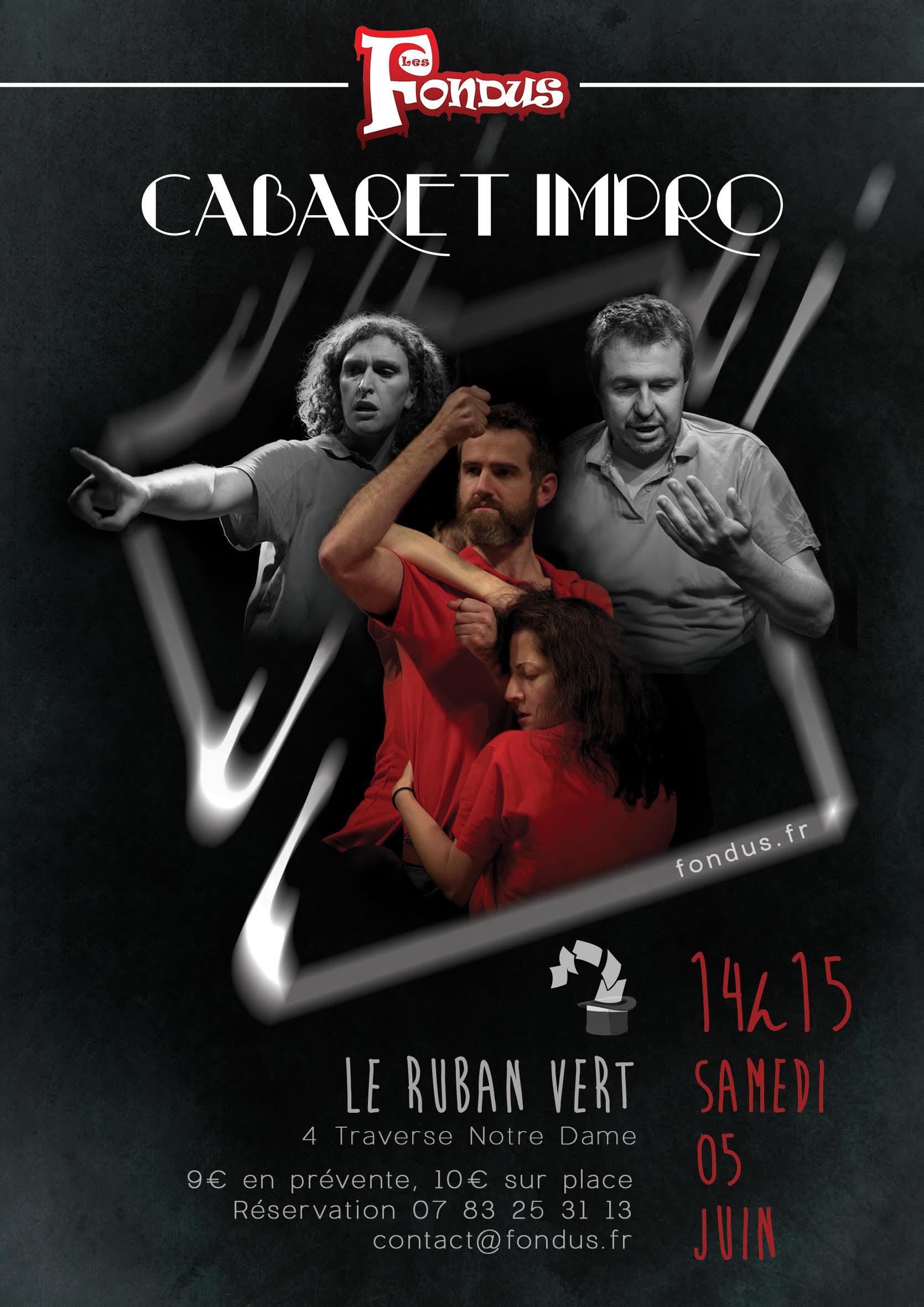 Affiche Cabaret Samedi